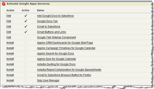 Google Apps Setup Step 2